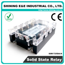 SSR-T25DA-H Zero Cross With Fan 3-Phase DC AC 25A Solid State Relay
