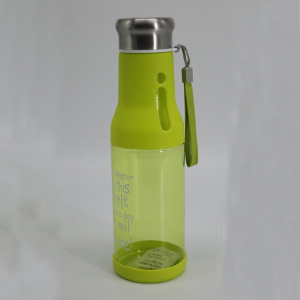 Water Bottle for walking with silicone dishwasher safe