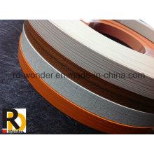Hochwertige Woodgrain-Möbel PVC-Kantenanordnung