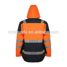 3M cinta de poli algodón de seguridad reflectante chaqueta