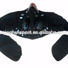 Máscara de la motocicleta a prueba de polvo con máscara de polvo de motocross de filtro montando la máscara