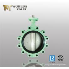 Válvula Borboleta em Ferro Dugado