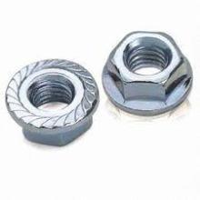 Fasteners Medium Flange Hex Nut DIN9623