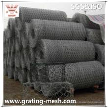 Galvanisierte Gabion Mesh / Stahl Mesh Gabion / gewebte Gabion mit Größen
