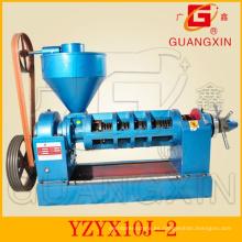 Maquinaria de Guangxin de prensa de aceite Yzyx10j 4.5ton / máquina de aceite de día