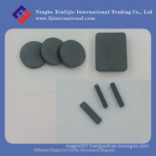 Different Shapes for Ferrite Permanent Magnets