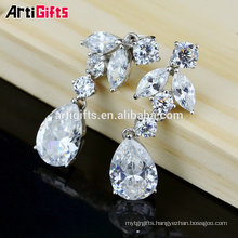 Earring set top design Cubic Zirconia Diamond pendant earring