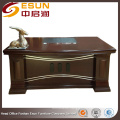 Round edge elegance boss modern director office table design