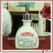 Distributeur de savon liquide en céramique de style français