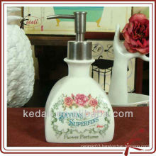 french style ceramic liquid soap dispenser