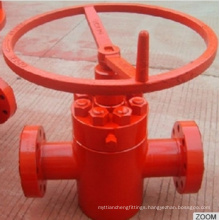 API 6A High Pressure Rising-Stem Manual Gate Valve