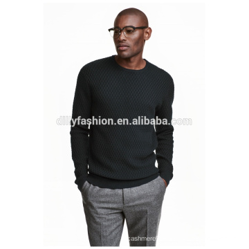 Sweat-shirt à capuche en maille jacquard sweatshirt noir