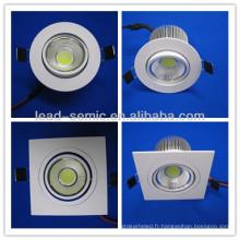 Downlight à LED de 100 mm de diamètre COB10W