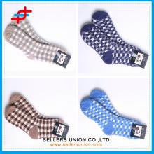Chaussettes de mode pour hommes en microfibre / chaussettes mi-veau chaussettes mi-caisse en hiver