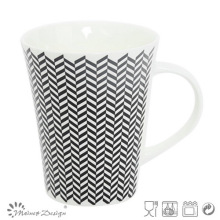 Classic Horn Shape New Bone China Mug
