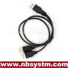 USB-Netzkabel Ein Stecker zum A-Stecker x 2, Festplatten-Datenleitung