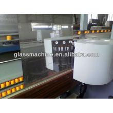 YMLC261 Vidro máquina de chanfradura em linha reta com 9 cabeças de Motor