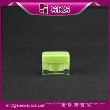 SRS mini 5g acrylique cosmétique jar pour la crème pour le visage