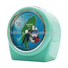 Despertador movimento, relógio de mesa, relógio de mesa, patente uniforme luz projetor despertador CK-503