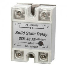 SSR - Relais de relais à semi-conducteurs de couleur noire 40A 60A de 25AA