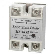 SSR - relé de estado sólido do relé do preto da cor 40A 60A de 25AA