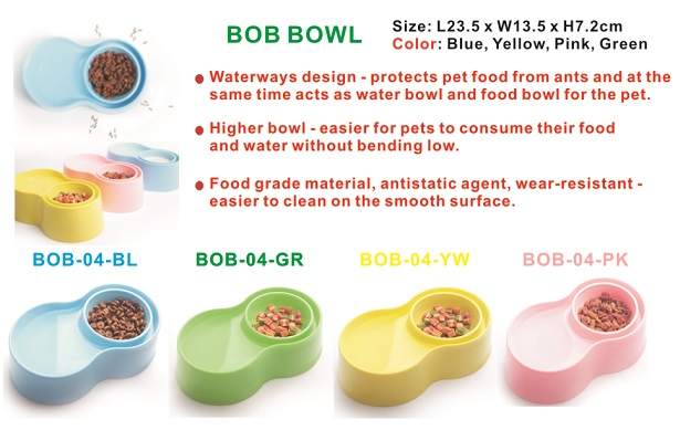 Anti-ant dog bowl