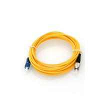 Fibra Ótica SC / APC para SC / APC SM SX Patch Cord, SC / UPC para FC / UPC Patch Cord