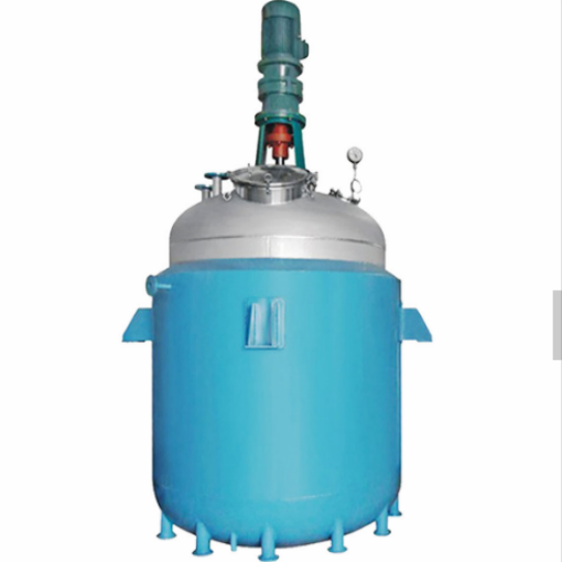Thermal Oil Heated Chemical Reactor Tank Dengan Motor