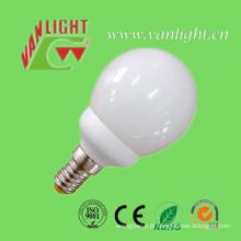 Tipo mini globo forma CFL 9W (VLC-MGLB-9W-A), lâmpada de poupança de energia