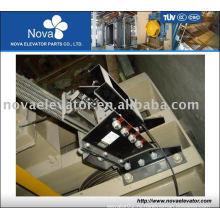 Элементы безопасности для лифтов: канатный тормоз