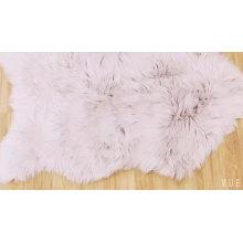 Wholesale anti slip faux sheepskin fur rug