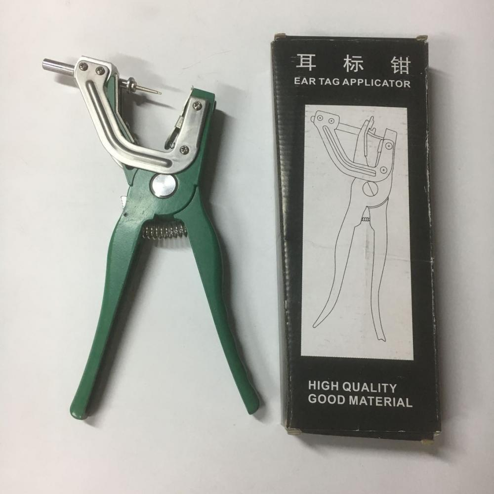Animal Ear Tag Plier Green 5