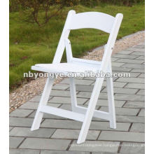 rental folding resin chair