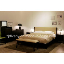 Modern Style Bedroom Furniture Wooden Bed (A-B37)