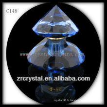 Belle bouteille de parfum en cristal C148