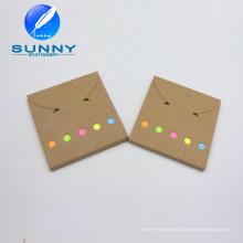 Hard Craft Color Memo Pad, Juego de notas adhesivas