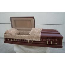 Caixão de madeira de estilo americano Gwf01-03