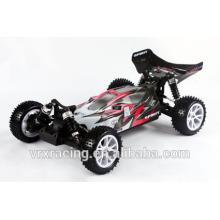 cepillado de escala 1/10 eléctrico 4wd buggy rtr, 1:10 con pilas coche buggy rc de la manía