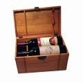 Пользовательская подарочная деревянная коробка для упаковки / ювелирные изделия / вино / чай