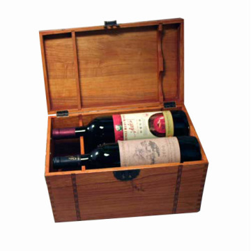 Boîte en bois cadeau personnalisé pour paquet / bijoux / vin / thé