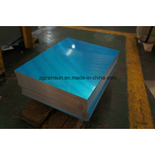 5052 H32 Aluminum Sheet with Blue PE Film