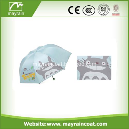 Open Two Folding Umbrella
