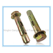 Expansion Anchor Bolt with Gold Zp