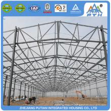 Comercial rápidamente ensamblar la estructura de acero prefabricada casa de construcción de la escuela