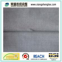 Tecido de algodão puro com acabamento resistente ao encolhimento