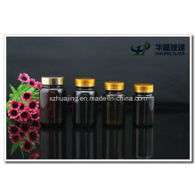 60g 100g 120g 150g Brown Pharmaceutical Glass Podwer Bottles