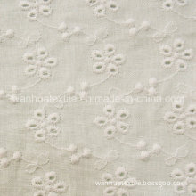 Chemical Cotton Embroidery Lace Fabric (BL018)