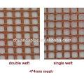 CD-6001 1mm * 1mm Venta caliente PTFE recubierto de fibra de vidrio malla de calidad de la tela de la elección