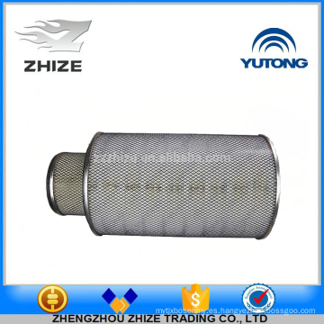 Suministro de China de alta calidad Bus spsre partes 1109-01400 Elemento de filtro de aire para el autobús Yutong