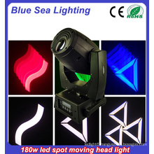 stage light gobo spot light led moving head 180w
